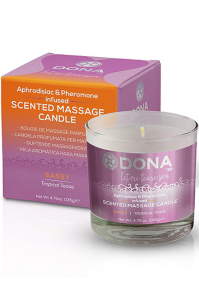 Scented Massage Candle Tropical Tease 225 m Świeca do masażu