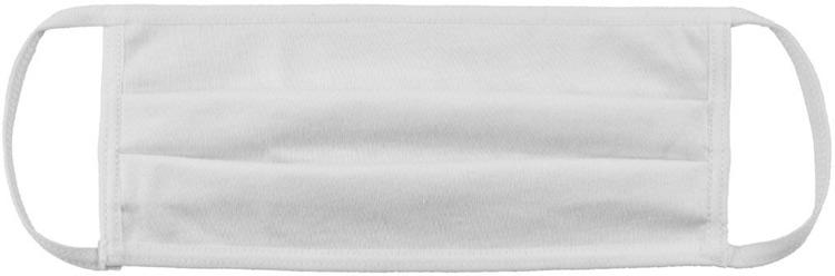 biała maseczka ochronna